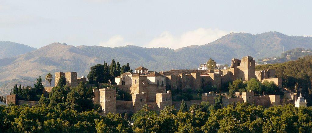 снимка на крепостта на Малага
